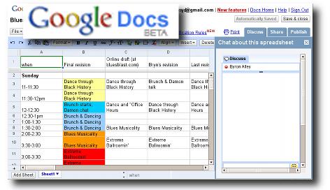 Google Docs Example